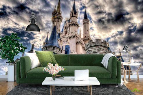 Замок Фотообои Облачный замок