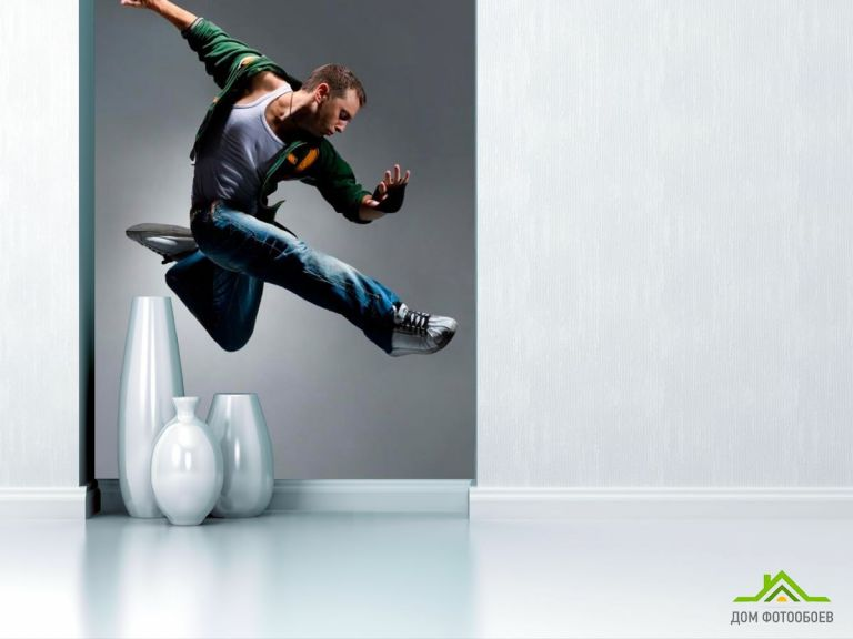 Фотообои Спортивный танцор
