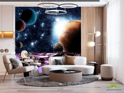 Космос Фотообои 6 планет