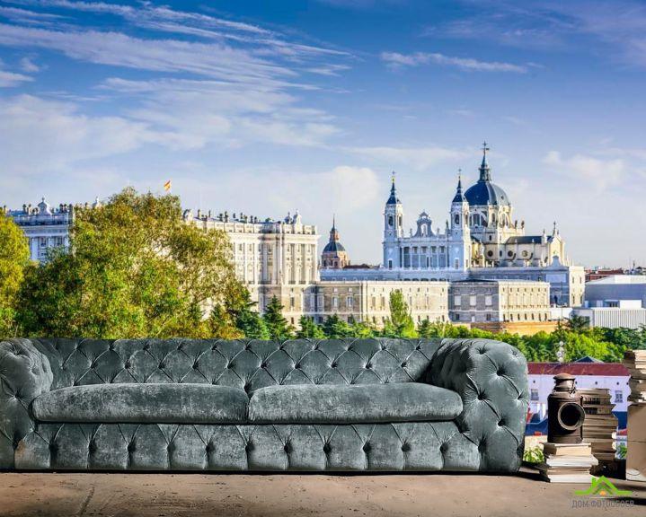 Фотообои Город, дворец