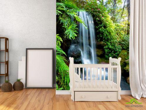 Водопад Фотообои Ручей, вода купить