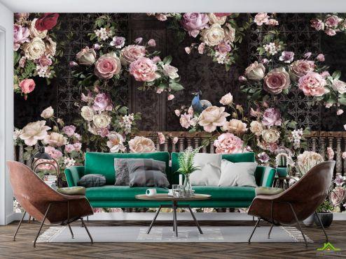 Цветы Фотообои 3д Розы купить