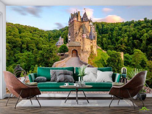 Природа Фотообои дорога к замку