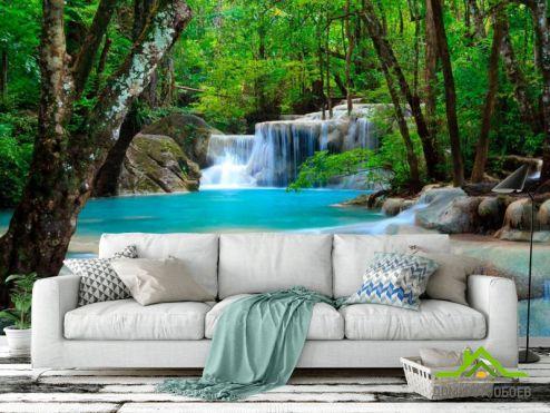 обои Водопад Фотообои Водная сказка