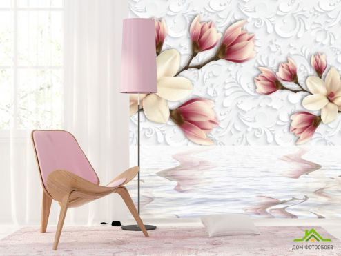 3Д обои Фотообои Цветы