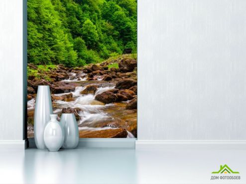 обои Природа Фотообои Большые камни, вода
