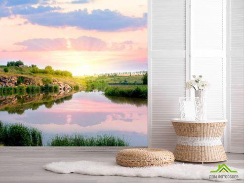 обои Природа Фотообои Пробуждение воды