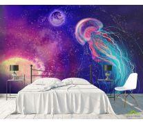 Фотообои Космическая медуза