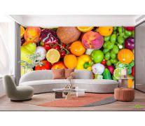 Фотообои фрукты и овощи