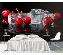 Фотообои Лёд, черешня