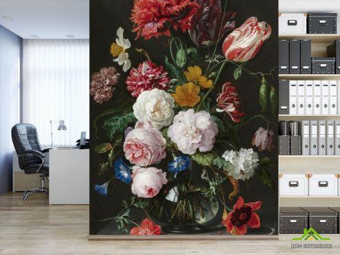 обои Цветы Фотообои Винтажный букет