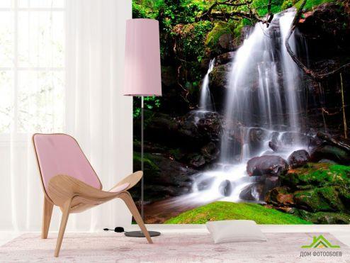 Водопад Фотообои Водный бриз