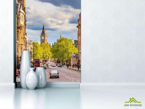 Лондон Фотообои дорога в Лондоне