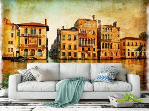 Винтажная Венеция Фотообои Венеция