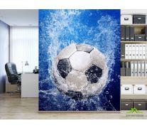 Фотообои мяч под водой