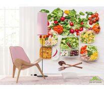 Фотообои еда и салаты