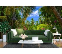 Фотообои пальмовый парк