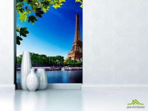 обои Город Фотообои Эйфелева башня