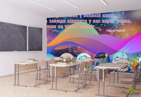 Фотообои для школы по выгодной цене Фотообои Для кабинета физики