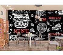 Фотообои Для бургерной/пиццерии