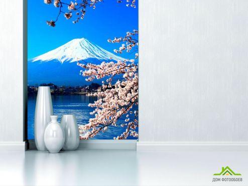 обои Природа Фотообои Вода,гора, цвет