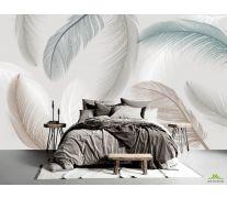 Фотообои Векторные перья