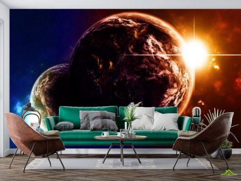Космос Фотообои Планеты в космосе