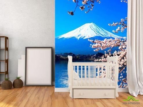 обои Горы Фотообои Вода,гора, цвет