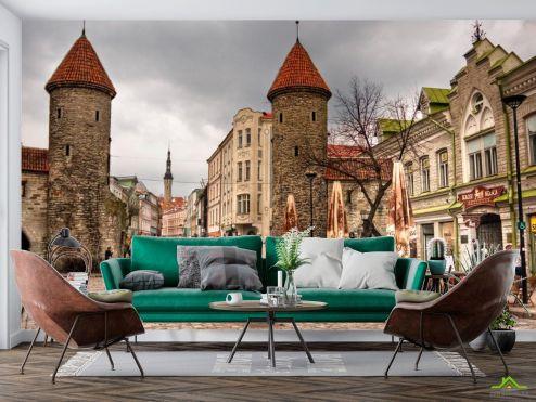 Старый город Фотообои Улица в Таллине, Эстония