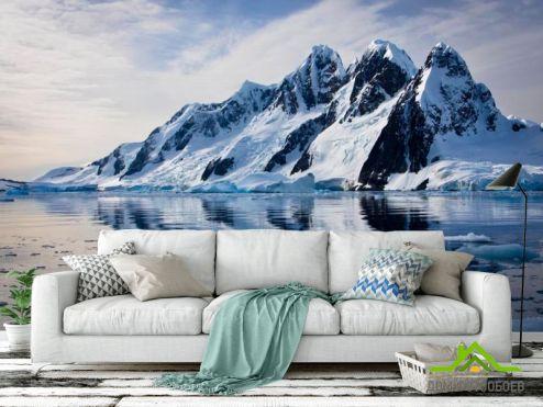 обои Горы Фотообои Сказочный горской вид