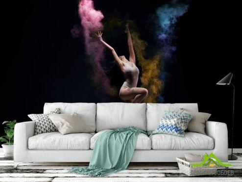 Фотообои Спорт по выгодной цене Фотообои девушка танцор