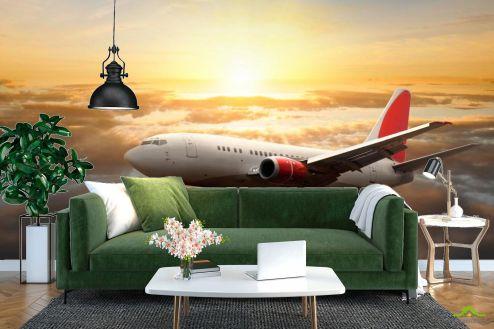 Самолеты Фотообои Самолет в небе купить