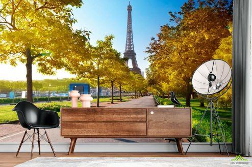 Каталог фотообоев Фотообои Париж осенью