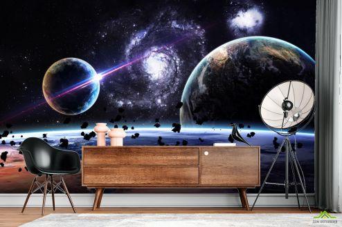 Космос Фотообои метеориты