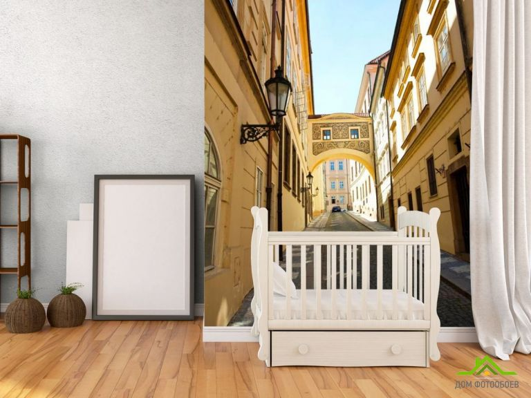Фотообои Узкая улица старого города