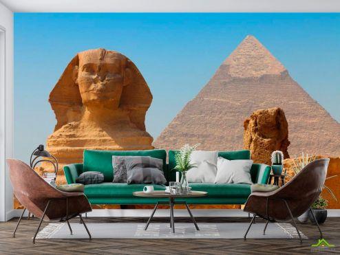 Фотообои Архитектура по выгодной цене Фотообои Египетские пирамиды