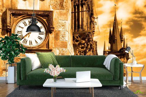 Фотообои Архитектура по выгодной цене Фотообои Часы на башне