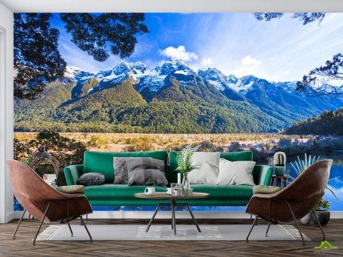 Фотообои Природа по выгодной цене Фотообои озеро в горах