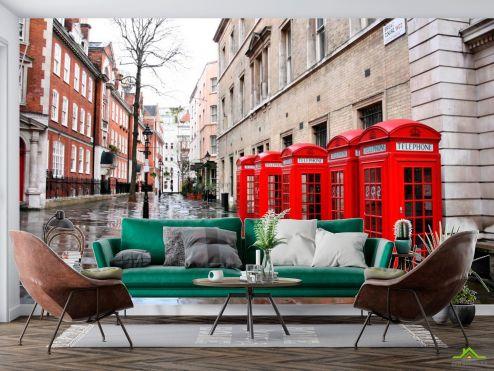 Каталог фотообоев Фотообои Улица в Лондоне