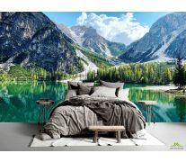 Фотообои Озеро и горы