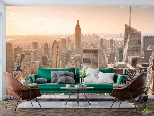Фотообои Город по выгодной цене Фотообои Современный Манхеттен
