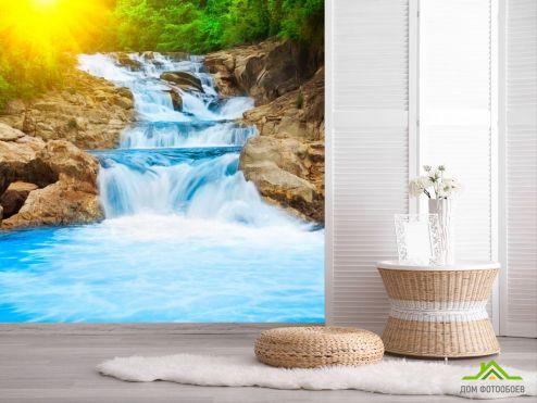 обои Природа Фотообои Сила води, скалы