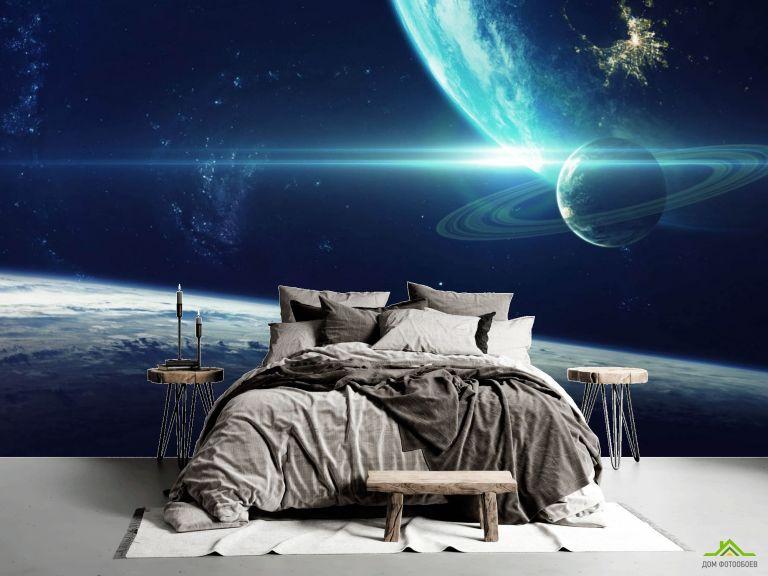 Фотообои Космические планеты