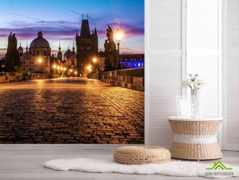 обои Старый город Фотообои Карлов мост в Праге