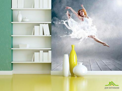 обои Спорт Фотообои Балерина
