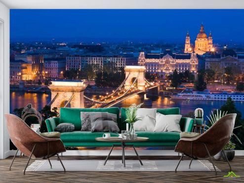 Старый город Фотообои Будапешт,столица Венгрии купить