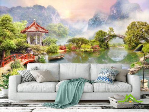 обои Пейзаж Фотообои Озеро