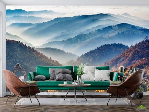 Фотообои Природа по выгодной цене Фотообои Вид на горы