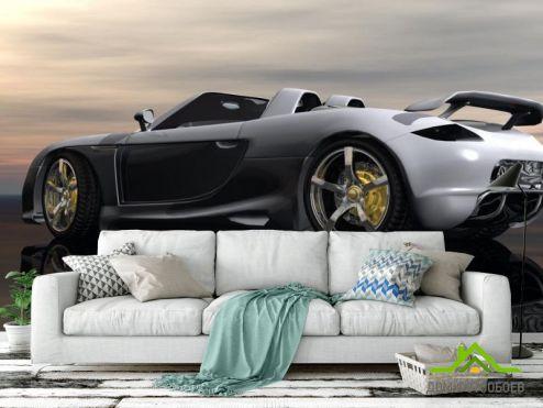 Фотообои Транспорт по выгодной цене Фотообои Porsche Carrera GT