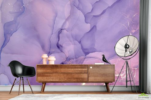 Фотообои Fluid art по выгодной цене Фотообои Fluid art фиолетовый